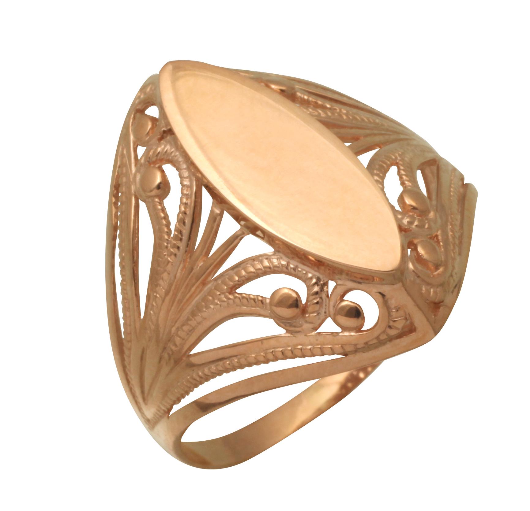 Золотые кольца без камней в картинках